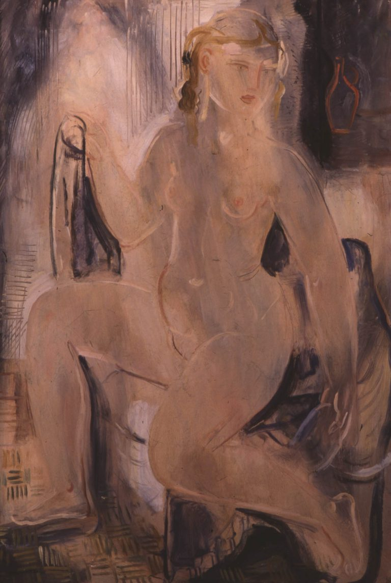 Blonde nude, 1924-25 oil on canvas, 91 x 64 cm Collection G.I. Katsigras Museum